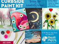 Take Home Paint Kits with Curbside Pick Up