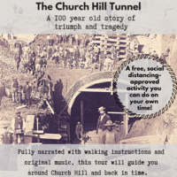 Church Hill Tunnel Audio Walking Tour - take on your own time!