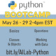 Python Boot Camp