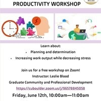 Habits, Happiness, and Productivity Workshop