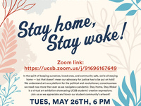 Stay home, Stay woke! UCSB Student Art Exhibit