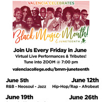 Valencia Celebrates Black Music Month and Juneteenth 2020