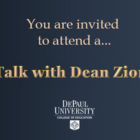 A Zoom Talk with Dean Zionts for Undergraduates