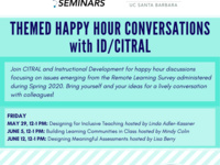 Themed Happy Hour Conversations with ID/CITRAL