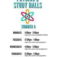 Physics 2 Study Halls