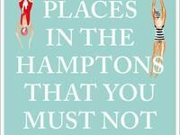 111 Places In The Hamptons That You Must Not Miss  by Wendy Lubovich
