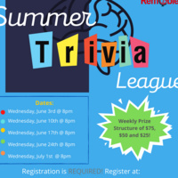 RemObie Summer Trivia League poster