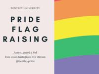 LGBTQ+ Pride Month: Pride Flag Raising