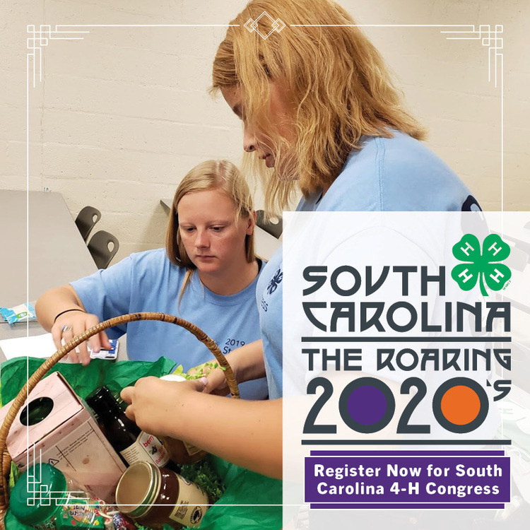 SC 4-H Virtual Congress- Registration OPEN!