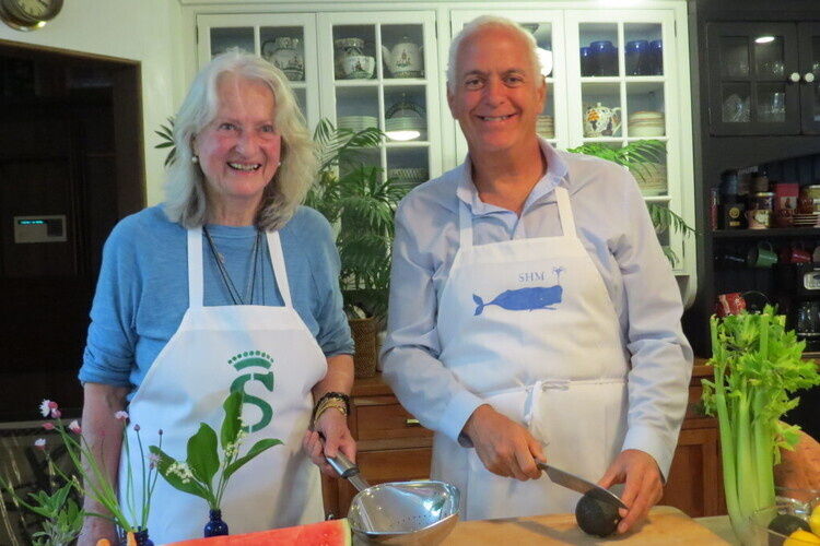 Cooking with the Countess: Rhubarb Compote with Vanilla Sauce