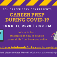 Career Prep During COVID-19