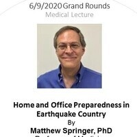 Grand Rounds | Home and Office Preparedness in Earthquake Country