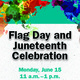 Flag Day and Juneteenth Celebration