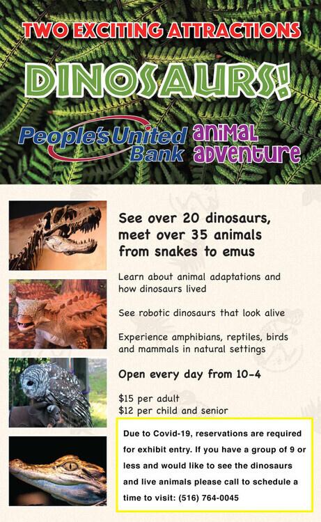 CSTL's Dinosaur Exhibit is Reopening! 5/29