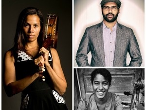 Convocation: Swimming in Dark Waters: Other Voices of the American Experience, Featuring Rhiannon Giddens '00, Bhi Bhiman, and Leyla McCalla