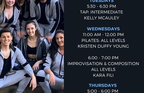 June 2020 COF Dance Schedule Flyer