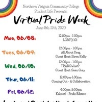NOVA Virtual Pride Week: Coming Out Stories, What to Know & How You Can Support