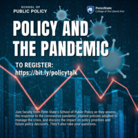 "Policy and the Pandemic - ""Fiscal Policy Responses to COVID-19"""