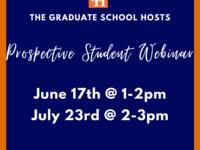 Prospective Student Webinar