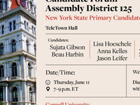 Candidate Forum for Assembly District 125