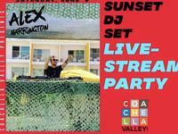 LIVE SUNSET DJ SET - Alex Harrington Live Streaming at 6pm