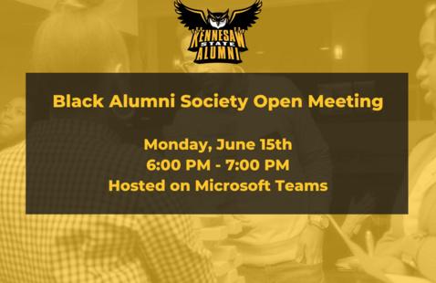 Black Alumni Society Open Meeting