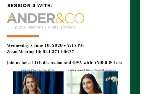 Career Conversations with Ander & Co. PR