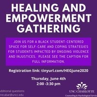 CAPS Healing and Empowerment Virtual Gathering