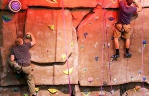 Rock Wall Top Roping