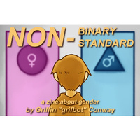 """Nonbinary, Nonstandard""—Virtual Senior Art Show: Griffin Conway"