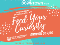 Feed Your Curiosity- Summer Series