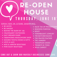 Re-Open House Event