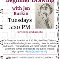 Virtual Art Class: Beginner Drawing for Teens & Adults