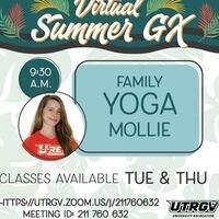 Virtual Summer GX: Family Yoga