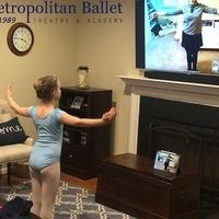 Metropolitan Ballet Theatre's DREAMS Online camp, ages 5-7
