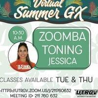 Virtual Summer GX: ZOOMBA Toning