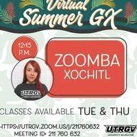 Virtual Summer GX: ZOOMBA