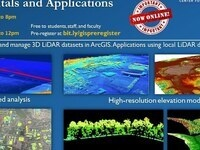 Using and Visualizing LiDAR in GIS--evening session