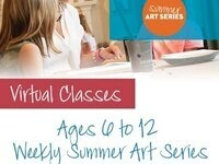 AGE GROUP 6 to 12 $99 Virtual Summer Camp: Pinot's Palette Bay Shore - Week 1 - The Elements & Principles of Art