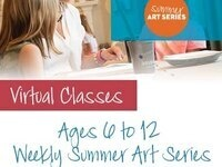 (Ages 6-12) $99 Virtual Summer Camp: Pinot's Palette Bay Shore - Week 2 - Landscapes & Perspective