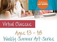$120 Virtual Summer Camp: Pinot's Palette Bay Shore - Week 4 - Beginning Painting - Perspective