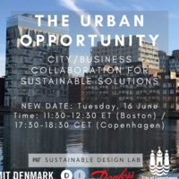 Webinar: The Urban Opportunity - City/Business Collaboration for Sustainable Solutions