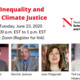 Viral Inequality and Urban Climate Justice