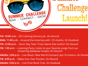 Adult Summer Challenge Launch!