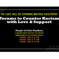 Forum 2: People of Color Panthers
