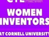 Webinar on Women Inventors at Cornell University