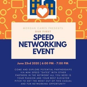 Morgan CARES Speed Networking Event