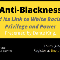 Anti-Blackness and Its Link to White Racism, Privilege, and Power: Webinar
