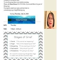 Virtual Grief Counseling group with Alma Alonso (7 sessions)