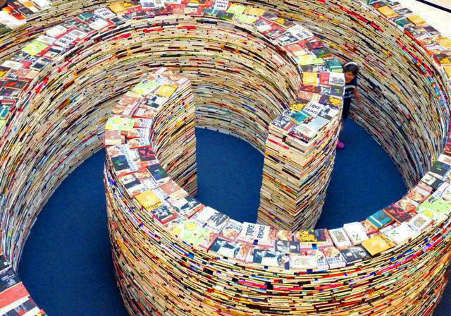 Beautiful, but Labyrinthine: The Care and Storage of Fictional Books